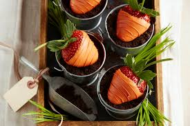 halloween dirt cake recipe chocolate covered strawberry carrots in chocolate dirt