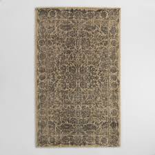 halloween area rugs gray floral tufted wool sapphire area rug world market
