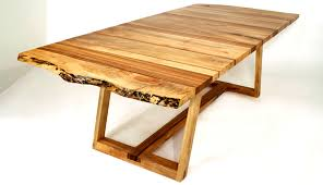 Wood Dining Table Design Bandwidth Table Series Wood Furniture Design By Eric Manigian