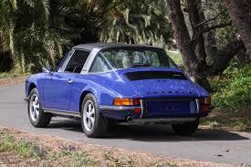 1973 porsche 911 targa for sale 1973 porsche 911t 2 4 targa in oxford blue pons vintage cars