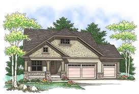 craftsman design with open floor plan 89651ah architectural