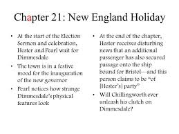 the scarlet letter chapter 21 questions and answers docoments