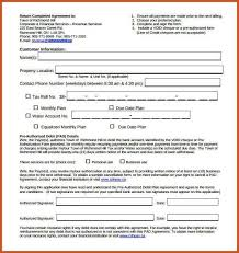 debt agreement letter 5 loan agreement templates to write perfect