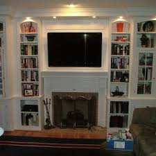 Fireplace Mantels With Bookcases Custom Cabinetry Stigler U0027s Woodworks Cincinnati Oh