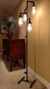 diy mason jar light with iron pipe on sale through feb 28 only regularly 229 this l is truly a