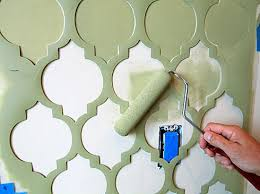 wallpaper stencil the wallpaper