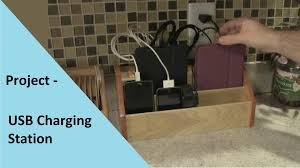 build a charging station project build usb charging station youtube
