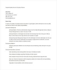 executive resume examples 24 free word pdf documents download
