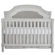 amazon com evolur julienne 5 in 1 convertible crib antique grey