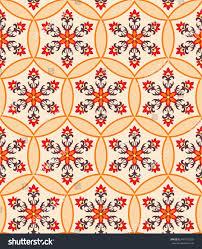 arabesque pattern moorish style arab seamless stock vector