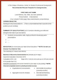 Example College Student Resume by College Student Resume Job Proposal Example