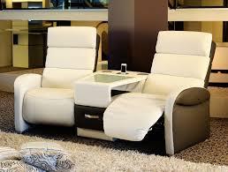 canapé 2 places electrique fauteuil relax électrique ref 25636 meubles cavagna
