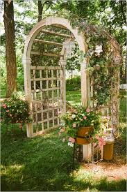 Wedding Arch Garden Garden Trellis Wedding Arch 53 Wedding Arches Arbors And U2026