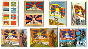 Different Countries And Their Flags Tibet On The Cards Of History Revisiting The Tibetan National