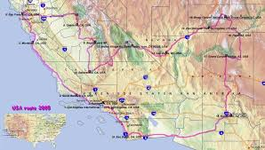map of usa west coast map usa west major tourist attractions maps west coast