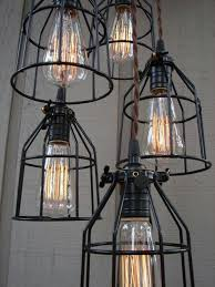 82 best industrial inspired light fittings images on