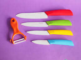 Ceramic Kitchen Knives Review Good Food Good Hobby Good Life Ovela Ceramic Knives Set Review