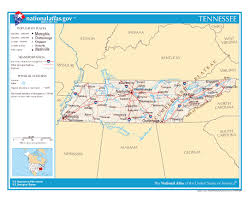 Map Of Tennessee And Georgia by Maps Of Tennessee State Collection Of Detailed Maps Of Tennessee