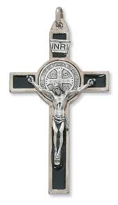 catholic crucifix benedict crucifix necklace