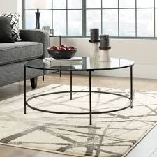 coffee table awesome gold metal coffee table black glass top