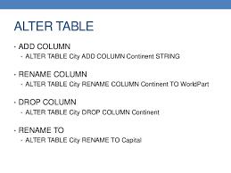 db2 alter table add column alter table rename maison design edfos com