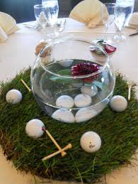 theme centerpiece sports themed weddings sports themed wedding reception centerpieces