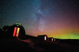 where to stay to see the northern lights northern lights in scotland visitscotland