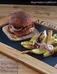 cuisiner un hamburger burger de canard aux chignons et lomo