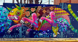 Mural Collaboration by Gleo U0026 Unonueve Collaborate On A New Mural In Mexico City