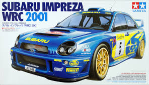 Tamiya 24240 Subaru Impreza Wrc 2001 1 24 Scale Kit Plaza Japan