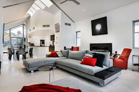 black and gray living room amazing black red and gray living room ideas 75 about remodel red
