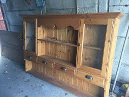 Wall Hung Kitchen Cabinets by Vintage Wooden Wall Hung Kitchen Cabinet Dresser In Bearsted