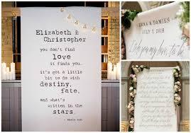 personalised wedding backdrop uk personalised unique wedding decorations confetti co uk