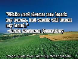 sticks and stones u2026why words can hurt us u2013 suburbanprincessteacher