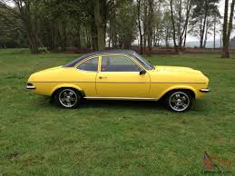 1975 vauxhall magnum 1800 yellow excellent condition not firenza