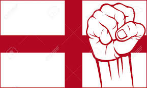 Flag Og England England Fist Flag Of England Royalty Free Cliparts Vectors And