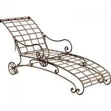 Wrought Iron Chaise Lounge Captivating Wrought Iron Chaise Lounge With Living Room Incredible