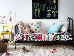 toddler bed with ikea minnen frame and target pillowfort