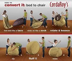 convertible bean bag chair that turns into mattress legit gifts