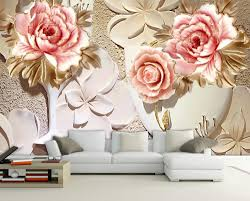 aliexpress com buy custom 3d wallpaper murals 3d flower aliexpress com buy custom 3d wallpaper murals 3d flower wallpaper relief flower 3d wallpaper walls home decoration from reliable 3d flower wallpaper