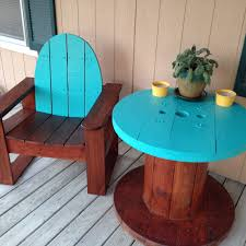Front Porch Patio Furniture by Front Porch Patio Furniture Electric Wire Spool Table With