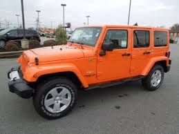 orange jeep wrangler unlimited for sale new 2012 jeep wrangler unlimited sahara 4x4 for sale stock 12197