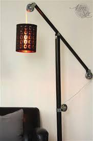 Pulley Floor L Modern Industrial Floor Ls Home Lighting Design Ideas