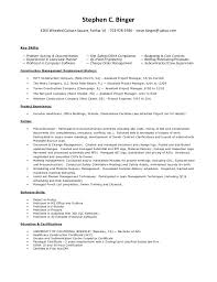 Assistant Project Manager Construction Resume by Steve Binger Resume U0026 Project List