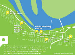 Downtown Portland Map by Perspectives Portland Community Revitalization With Gill Holland