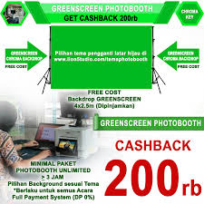 Photo Booth Cost Photobooth Murah No 1 Jakarta Greenscreen Distributor Indonesia