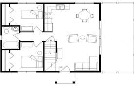 open loft house plans 20 single open floor plans loft log cabin flooring ideas
