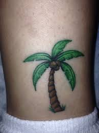 palm tree ankle