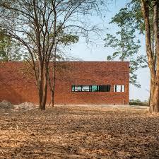 architect news u2014 layers of brick concrete and glass define private