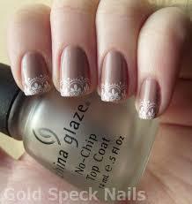 gold speck nails interview nails pt 2 models own beige